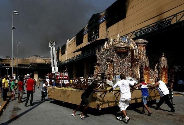 Fire at Samba City