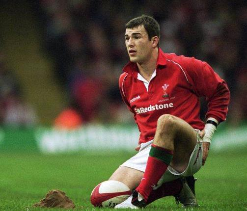Coach Iestyn Harris making his Wales debut in union