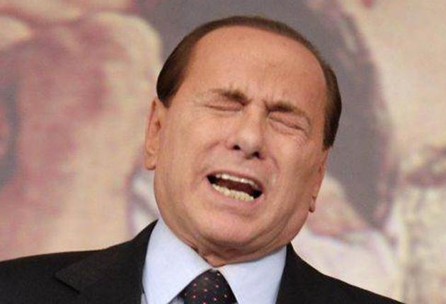 Silvio Berlusconi: 'The only aim of the inquiry is to defame me in the media. I shall attempt to sue the state'