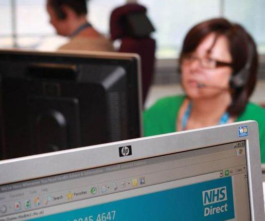 The Department of Health said that using call centres would save millions