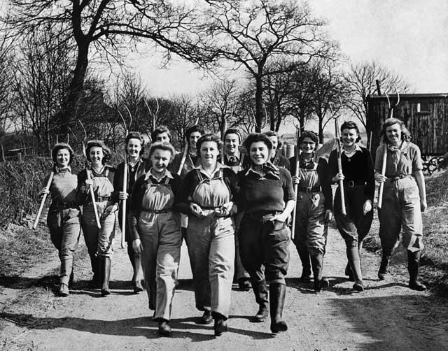 Food for survival: The Women's Land Army alleviated wartime hunger