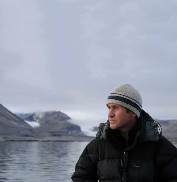Parry says: 'Most people think the arctic is just a white expanse - it's actually a massive, undefined area full of riches'