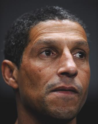 Chris Hughton has held talks with West Bromwich about the manager's post