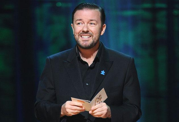 Ricky Gervais is the go-to host if you want an angry audience. Even Ross said he couldn't have done what Gervais did at the Golden Globes