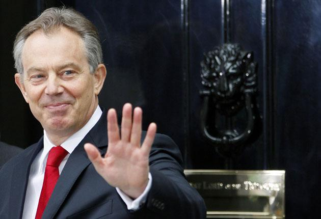 Labour is keen to distance itself from the image of Tony Blair