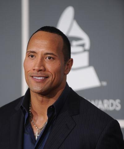 Actor and wrestler Dwayne 'The Rock' Johnson