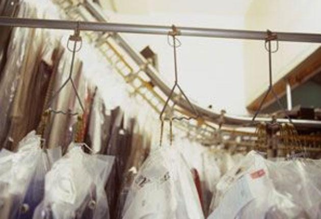 Cut out and cheap: a dry cleaners was beseiged by Groupon users