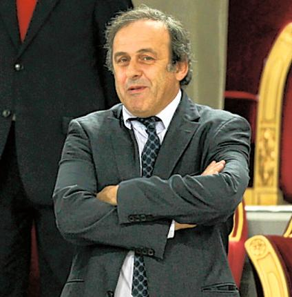 Michel Platini claims he wants to see more children at the final