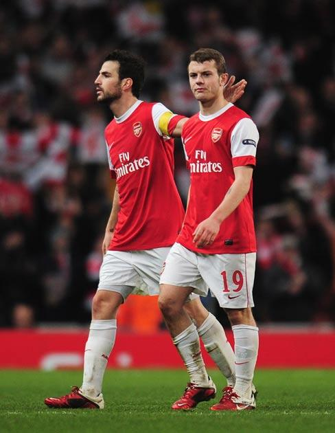 Wilshere was arguably the best player on the pitch