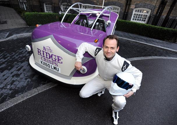 Former Stig Ben Collins ready for battle