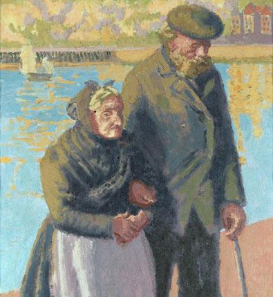The Blind Sea Captain by Walter Sickert is expected to fetch up to £60,000 when it comes up at auction next month