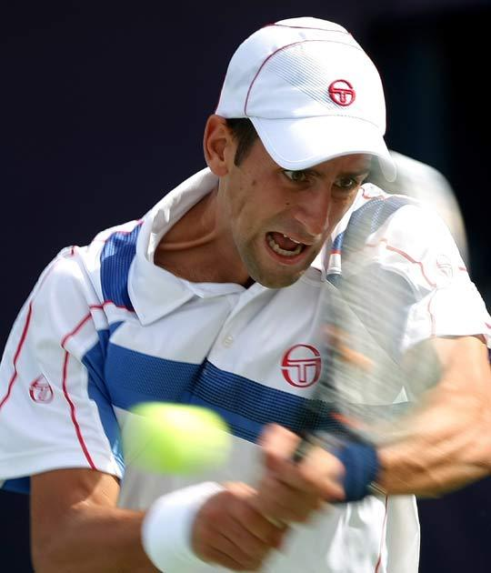 Djokovic is eager to improve his game