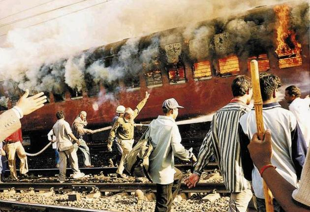 Most of the people who died in the train fire in Godhra in February 2002 were Hindu activists