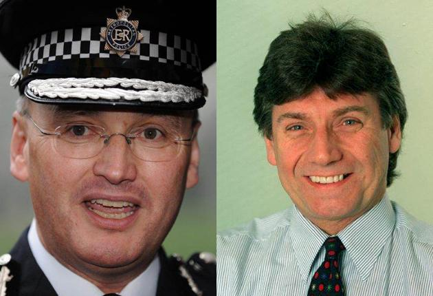 Sir Paul Stephenson, the Metropolitan Police Commissioner, had a number of dinners with senior News Corp executives including Neil Wallis, right