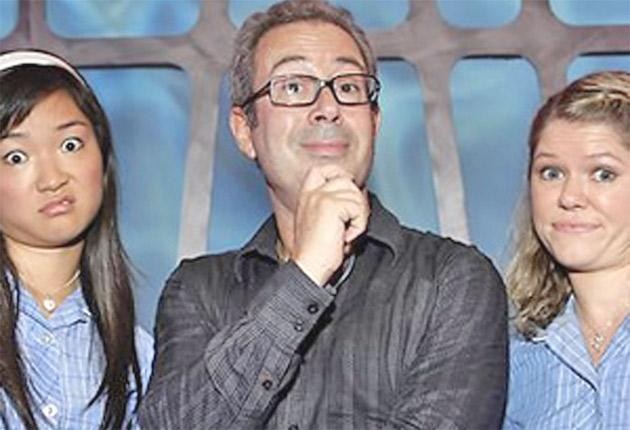 The comic in his scrapped sketch show 'Ben Elton: Live from Planet Earth'