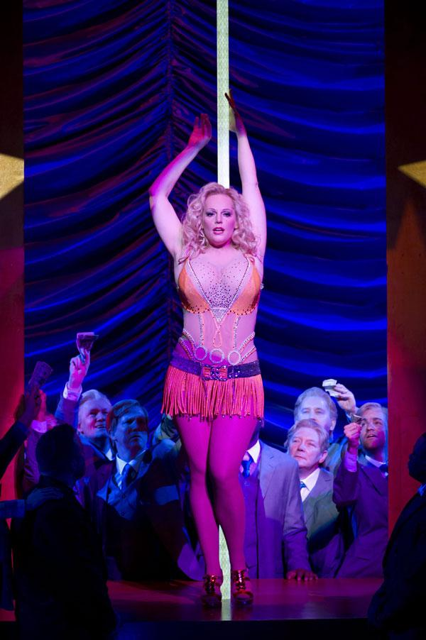 Gentlemen prefer blondes: Eva-Maria Westbroek stars in 'Anna Nicole' at the Royal Opera House