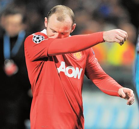 Wayne Rooney admits that Manchester United found it difficult to get into their stride in Marseilles. 'We didn't create as much as we'd like,' he said
