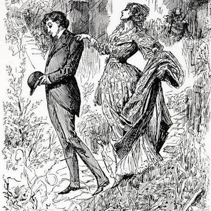An illustration from Charles Dickens' Great Expectations, published in 1862