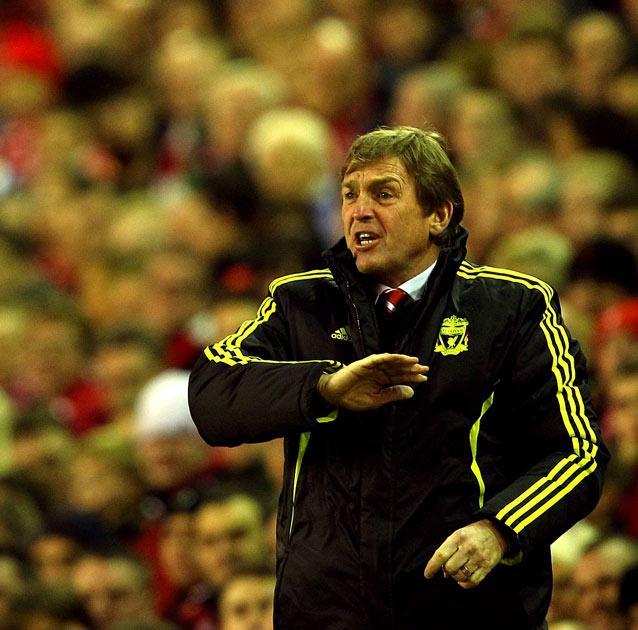 Dalglish saw Liverpool score a late winner to progress
