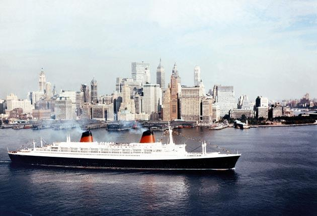 The SS France, which went into service in 1962, was longer than the Titanic and carried up to 2,000 passengers. It came to symbolise France's renewed self-confidence after the war