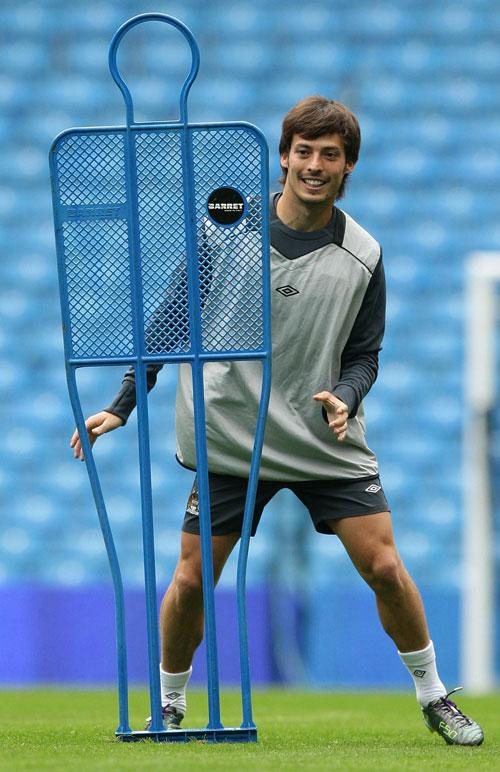 Described as 'small with big balls' by Luis Aragones, David Silva is the archetypal street footballer: 'Grass? No way! We'd play on the beach or concrete'