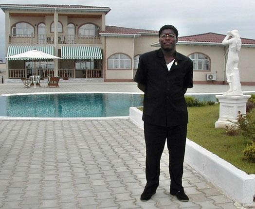 The dictator's son, Teodorin Obiang, lives an indulgent life