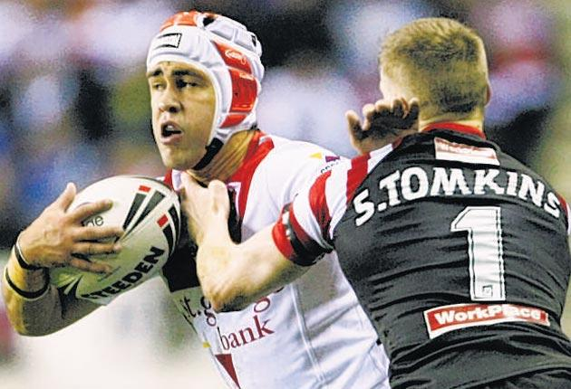 St George Illawarra outshone all the Six Nations teams last week