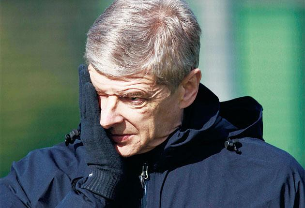 Arsène Wenger and Arsenal's season may be defined by the next few games, starting at the Nou Camp tonight