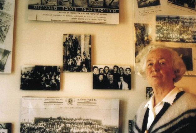 Holocaust bravery: Rachel Margolis chose to join the Jewish resistance in the Vilna ghetto