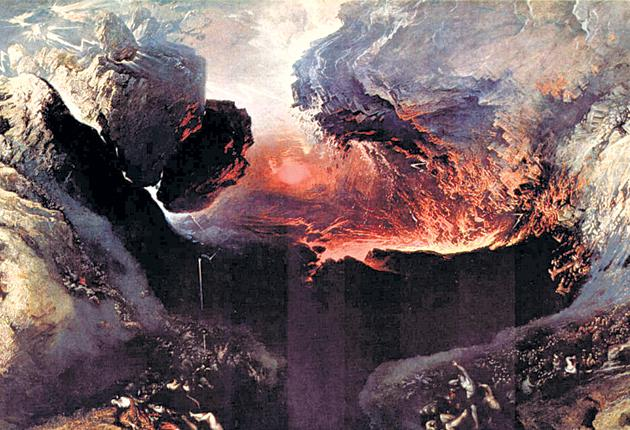 Fire and brimstone: John Martin's 'The Great Day of His Wrath'