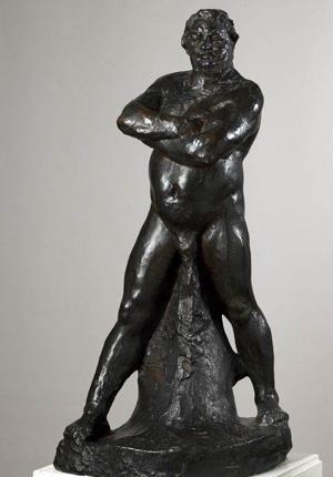 The stolen Rodin sculpture of Balzac
