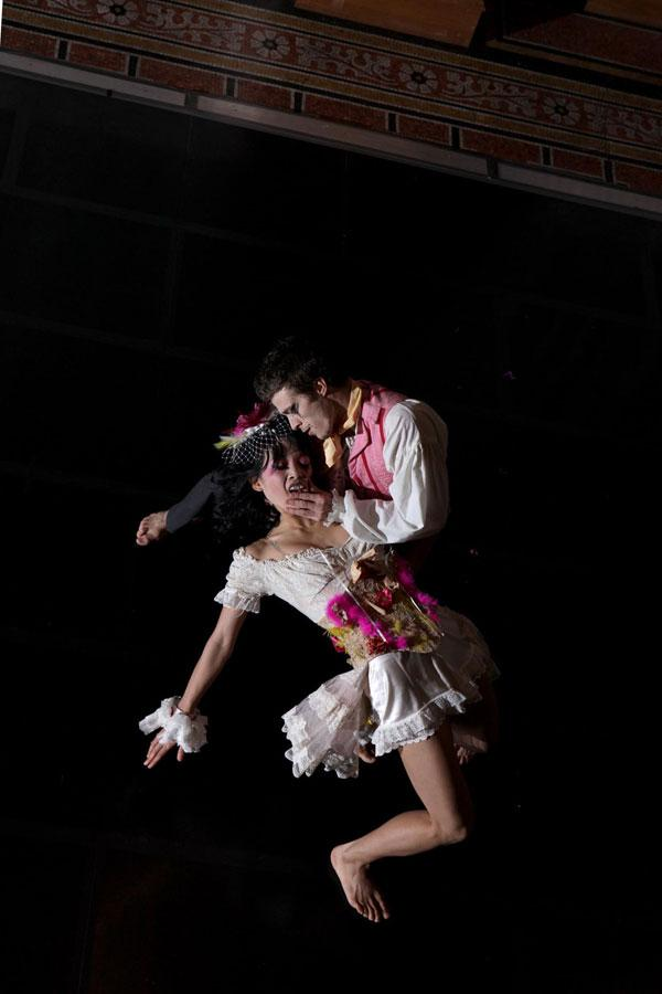 Phoenix Dance Theatre prepare for Frankenstein's Wedding...Live in Leeds