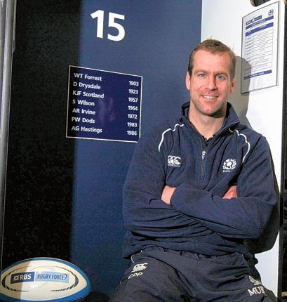 Chris Paterson stands alongside a list of great Scottish full-backs, few of whom enjoyed success at Twickenham