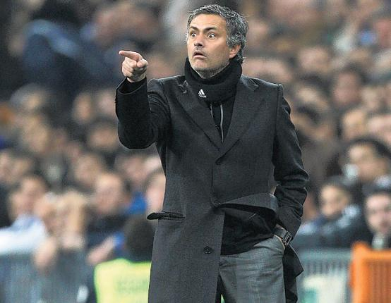 Jose Mourinho has overseen a 100 per cent home record in La Liga at Real Madrid
