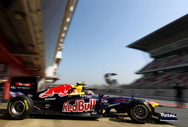 Red Bull appear fastest in testing
