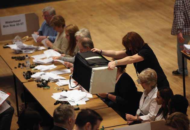 Critics of AV say it can make election results less representative