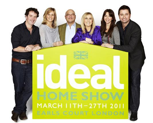 The ideal Ideal Home Show presenting team
