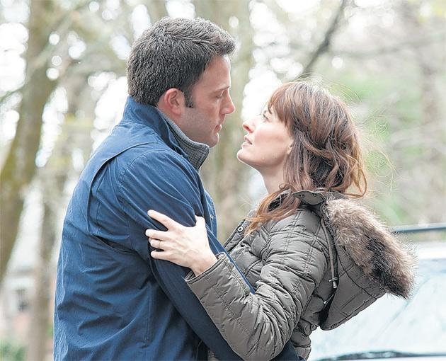 Clinging on: Ben Affleck and Rosemarie DeWitt in The Company Men