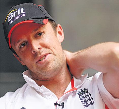 Graeme Swann said he deserved his punishment for swearing at an umpire