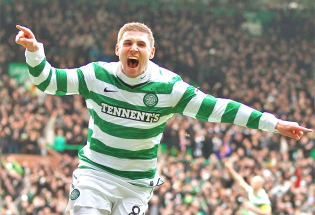 Gary Hooper has two cup games for Celtic before his stint with England's Under-21s