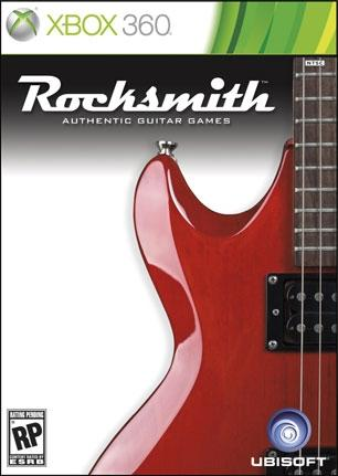 Preliminary cover art for 'Rocksmith' (Xbox 360 / PlayStation 3)