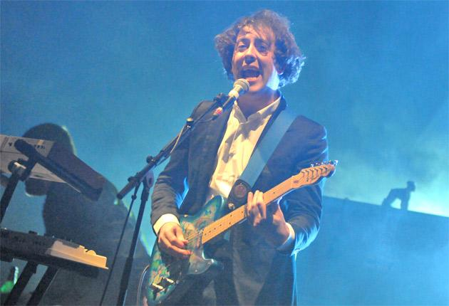 Warm reception: The Wombats