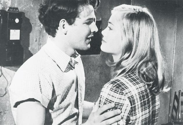 In tune: Timothy Bottoms and Cybill Shepherd in The Last Picture Show