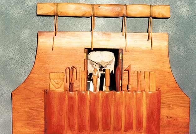 Wooden art: Will Maclean's 'Symbols of Survival'
