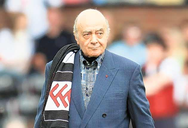Mohamed Al-Fayed owns Fulham Football Club and was a big fan of Michael Jackson. Now he plans to bring his club and the pop legend together