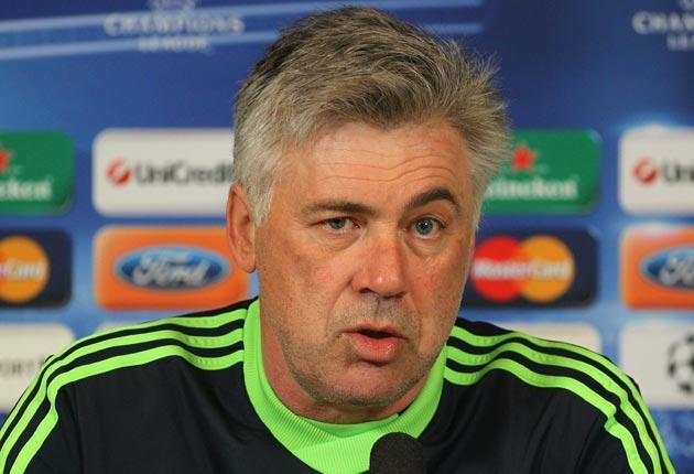 Carlo Ancelotti admits his side have not been as consistent as  Manchester United this season