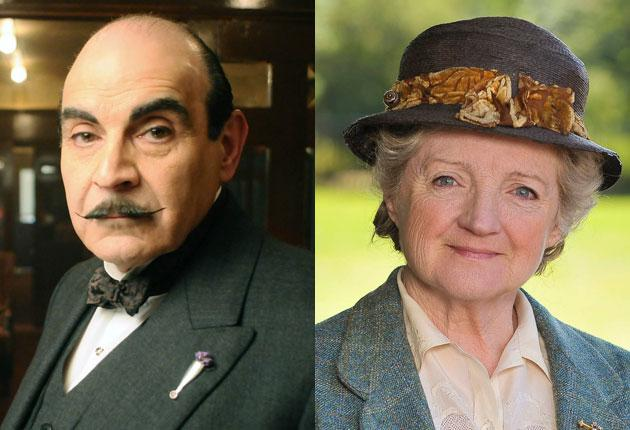 Julian Fellowes who created 'Downton Abbey', now has to equal Agatha Christie's most revered characters, Hercule Poirot and Miss Marple