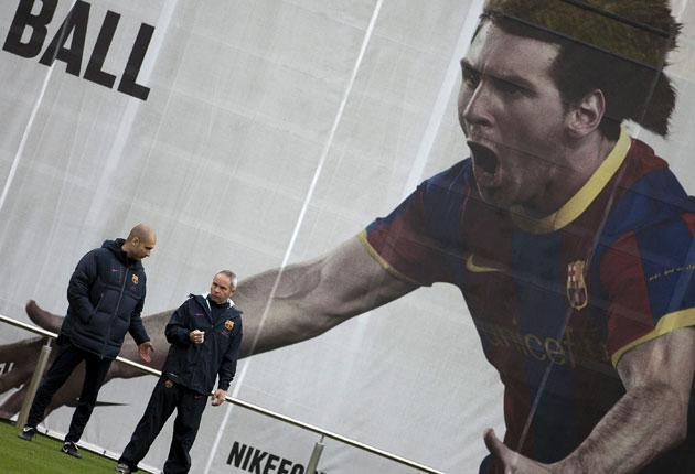 Leo Messi, the face (and boots) of Adidas