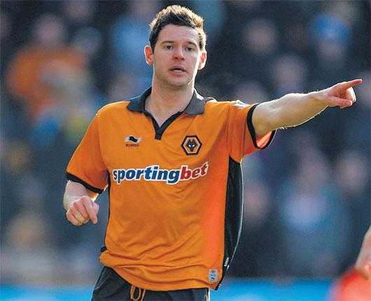 Wolves' Matt Jarvis has gone from League One to England in the space of less than four years