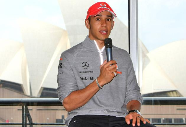 Lewis Hamilton is hoping to have a quieter time off the track in Melbourne